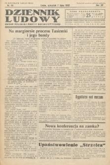Dziennik Ludowy : organ Polskiej Partij Socjalistycznej. 1932, nr151