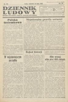 Dziennik Ludowy : organ Polskiej Partij Socjalistycznej. 1932, nr154