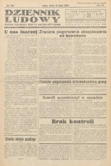 Dziennik Ludowy : organ Polskiej Partij Socjalistycznej. 1932, nr156