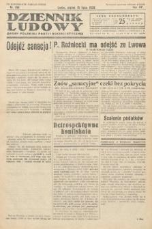 Dziennik Ludowy : organ Polskiej Partij Socjalistycznej. 1932, nr158