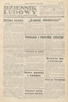 Dziennik Ludowy : organ Polskiej Partij Socjalistycznej. 1932, nr160