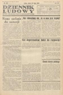 Dziennik Ludowy : organ Polskiej Partij Socjalistycznej. 1932, nr162