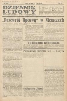 Dziennik Ludowy : organ Polskiej Partij Socjalistycznej. 1932, nr164