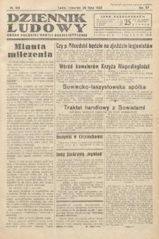 Dziennik Ludowy : organ Polskiej Partij Socjalistycznej. 1932, nr169