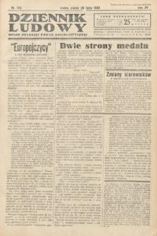 Dziennik Ludowy : organ Polskiej Partij Socjalistycznej. 1932, nr170