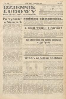 Dziennik Ludowy : organ Polskiej Partij Socjalistycznej. 1932, nr174