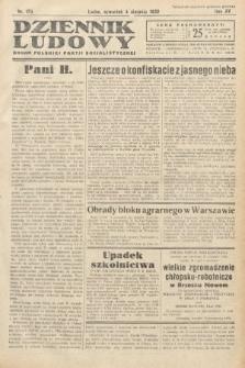 Dziennik Ludowy : organ Polskiej Partij Socjalistycznej. 1932, nr175