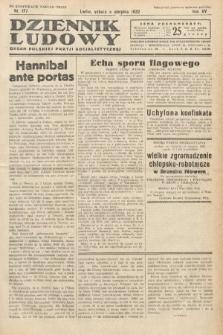 Dziennik Ludowy : organ Polskiej Partij Socjalistycznej. 1932, nr177