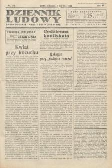 Dziennik Ludowy : organ Polskiej Partij Socjalistycznej. 1932, nr178