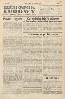 Dziennik Ludowy : organ Polskiej Partij Socjalistycznej. 1932, nr180