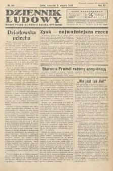 Dziennik Ludowy : organ Polskiej Partij Socjalistycznej. 1932, nr181