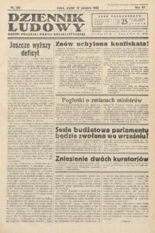 Dziennik Ludowy : organ Polskiej Partij Socjalistycznej. 1932, nr182