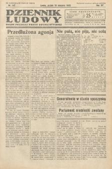 Dziennik Ludowy : organ Polskiej Partij Socjalistycznej. 1932, nr187