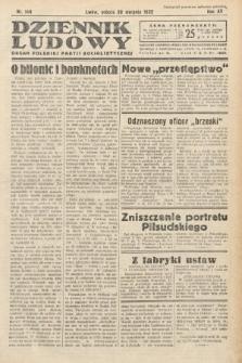 Dziennik Ludowy : organ Polskiej Partij Socjalistycznej. 1932, nr188