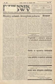 Dziennik Ludowy : organ Polskiej Partij Socjalistycznej. 1932, nr190