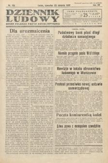 Dziennik Ludowy : organ Polskiej Partij Socjalistycznej. 1932, nr192