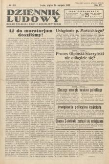 Dziennik Ludowy : organ Polskiej Partij Socjalistycznej. 1932, nr193