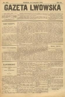 Gazeta Lwowska. 1899, nr258