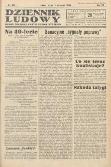 Dziennik Ludowy : organ Polskiej Partij Socjalistycznej. 1932, nr199