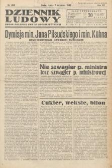 Dziennik Ludowy : organ Polskiej Partij Socjalistycznej. 1932, nr203