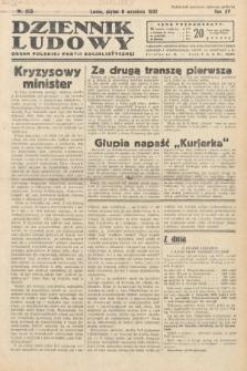 Dziennik Ludowy : organ Polskiej Partij Socjalistycznej. 1932, nr205