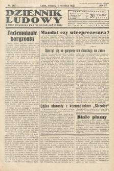 Dziennik Ludowy : organ Polskiej Partij Socjalistycznej. 1932, nr207
