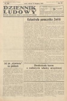 Dziennik Ludowy : organ Polskiej Partij Socjalistycznej. 1932, nr208