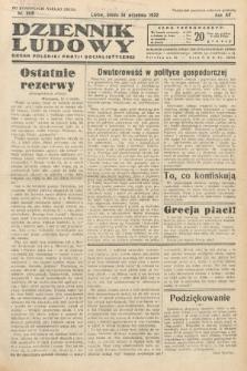 Dziennik Ludowy : organ Polskiej Partij Socjalistycznej. 1932, nr209