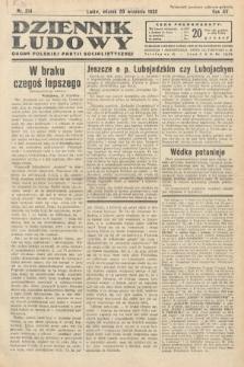 Dziennik Ludowy : organ Polskiej Partij Socjalistycznej. 1932, nr214