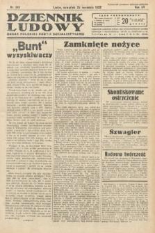 Dziennik Ludowy : organ Polskiej Partij Socjalistycznej. 1932, nr216