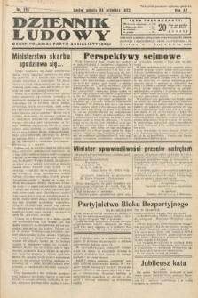 Dziennik Ludowy : organ Polskiej Partij Socjalistycznej. 1932, nr218
