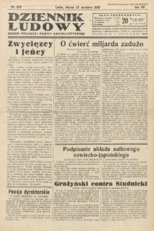 Dziennik Ludowy : organ Polskiej Partij Socjalistycznej. 1932, nr220
