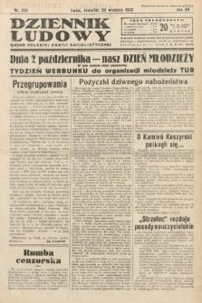Dziennik Ludowy : organ Polskiej Partij Socjalistycznej. 1932, nr222