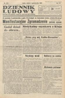 Dziennik Ludowy : organ Polskiej Partij Socjalistycznej. 1932, nr224
