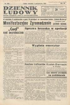 Dziennik Ludowy : organ Polskiej Partij Socjalistycznej. 1932, nr225