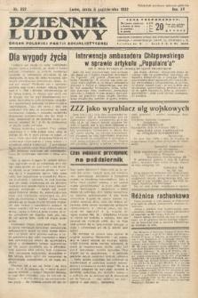 Dziennik Ludowy : organ Polskiej Partij Socjalistycznej. 1932, nr227