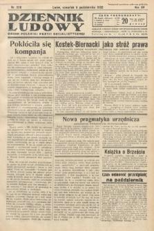 Dziennik Ludowy : organ Polskiej Partij Socjalistycznej. 1932, nr228