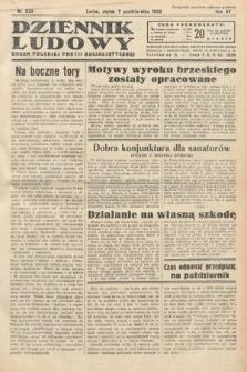 Dziennik Ludowy : organ Polskiej Partij Socjalistycznej. 1932, nr229
