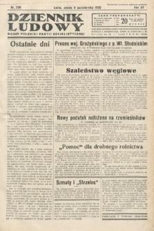 Dziennik Ludowy : organ Polskiej Partij Socjalistycznej. 1932, nr230
