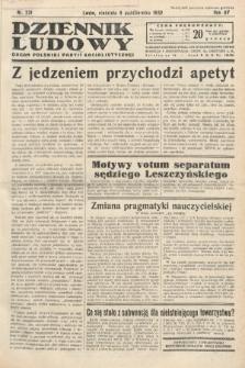Dziennik Ludowy : organ Polskiej Partij Socjalistycznej. 1932, nr231