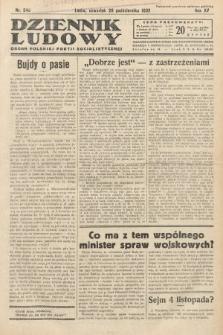 Dziennik Ludowy : organ Polskiej Partij Socjalistycznej. 1932, nr240