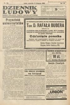Dziennik Ludowy : organ Polskiej Partij Socjalistycznej. 1932, nr251