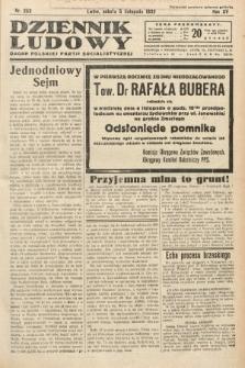 Dziennik Ludowy : organ Polskiej Partij Socjalistycznej. 1932, nr253