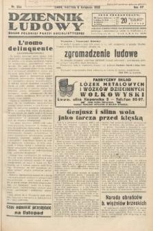 Dziennik Ludowy : organ Polskiej Partij Socjalistycznej. 1932, nr254
