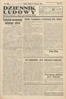 Dziennik Ludowy : organ Polskiej Partij Socjalistycznej. 1932, nr255