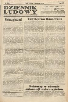 Dziennik Ludowy : organ Polskiej Partij Socjalistycznej. 1932, nr258