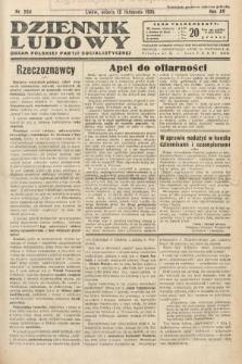 Dziennik Ludowy : organ Polskiej Partij Socjalistycznej. 1932, nr259