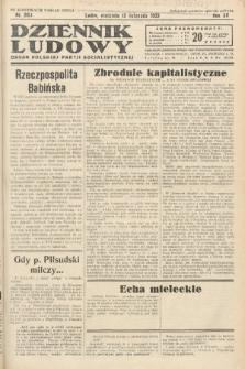 Dziennik Ludowy : organ Polskiej Partij Socjalistycznej. 1932, nr260
