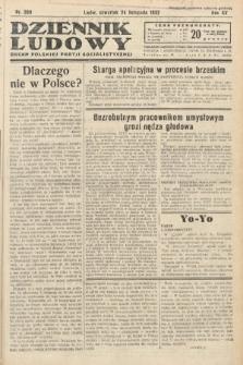 Dziennik Ludowy : organ Polskiej Partij Socjalistycznej. 1932, nr269