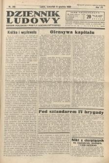 Dziennik Ludowy : organ Polskiej Partij Socjalistycznej. 1932, nr281
